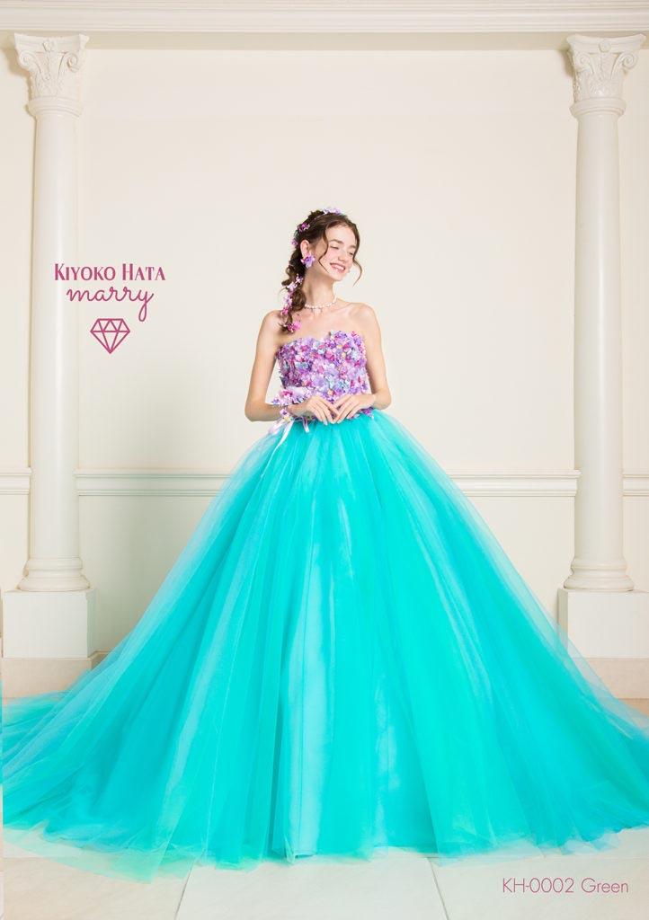KIYOKO HATA カラードレス