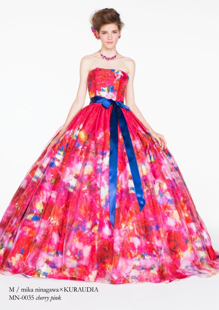 M/mika ninagawa カラードレス