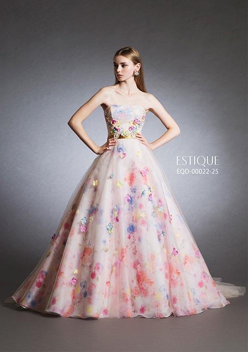 ESTIQUE カラードレス