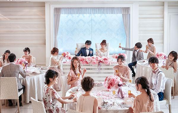 60名様の結婚式