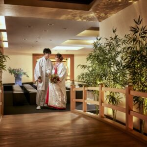 日本伝統の和婚【館内で叶う神前挙式】プラン